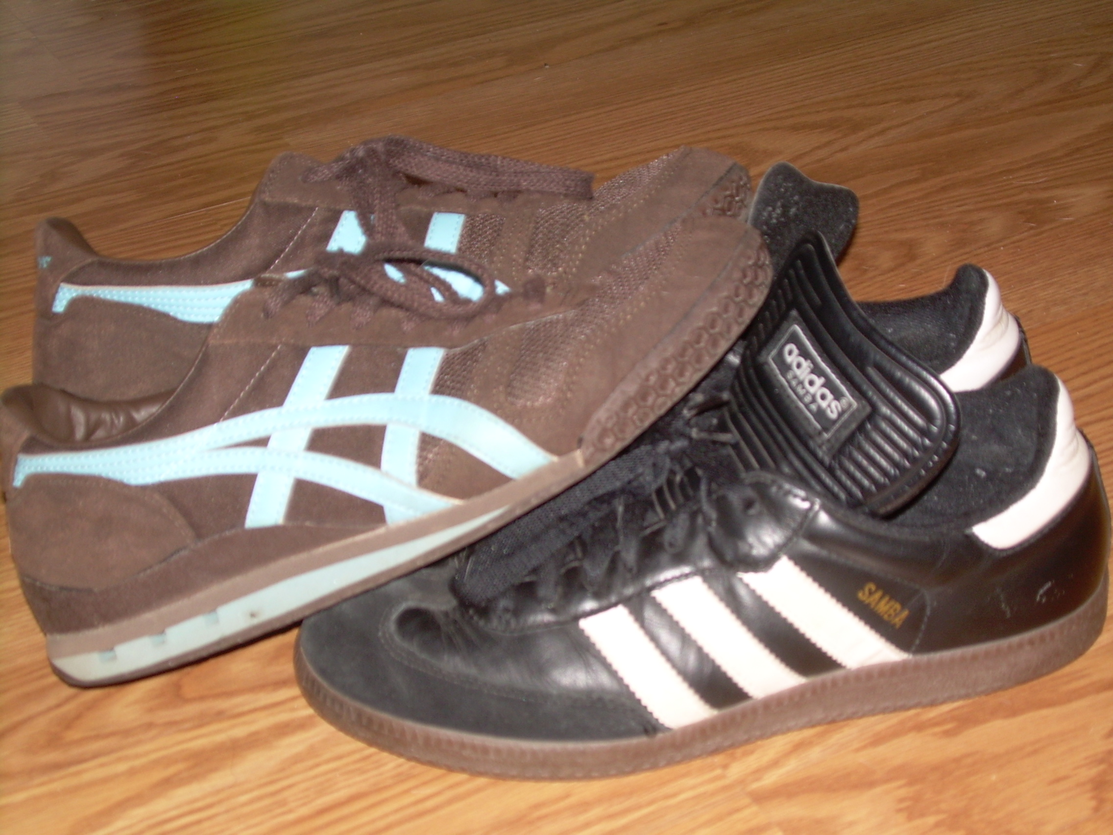 adidas samba brown