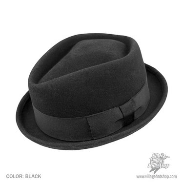 Another dressy hat is the Pork Pie – I think this one looks really awesome  when you re all dressed up and ready for a night out on the town. 84fd765e6